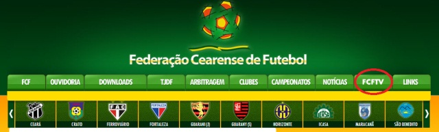 FCF lança Web TV e vai transmitir jogos ao vivo 34c4f89847211